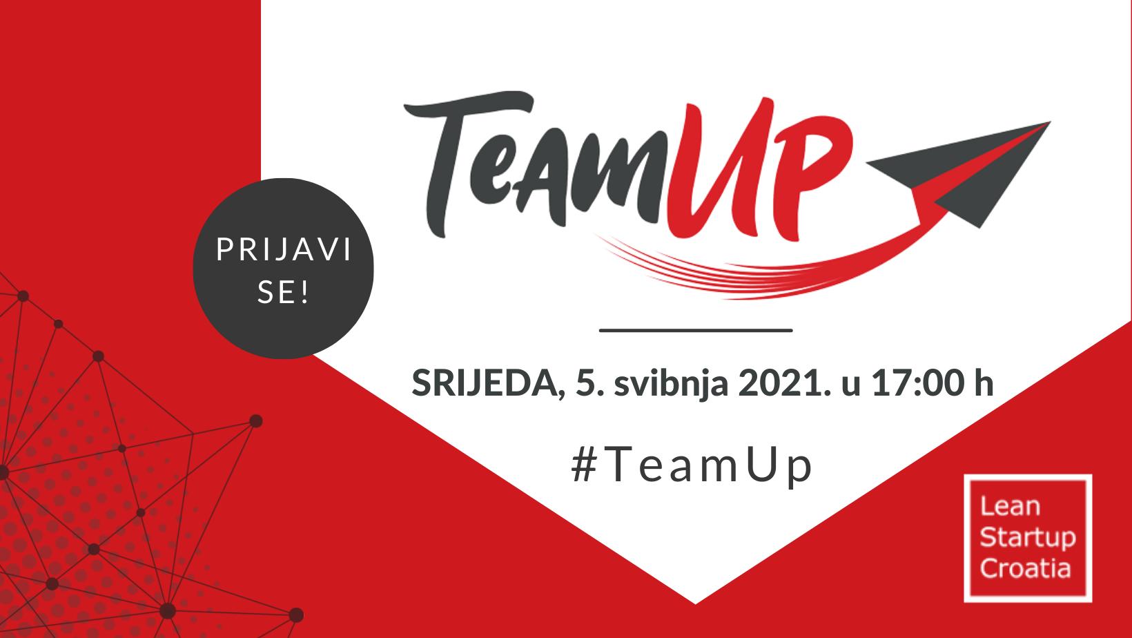 TeamUp za web